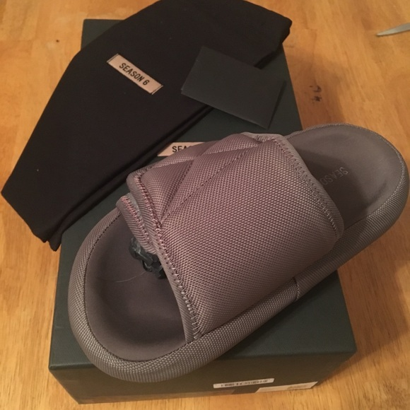 6612130c993d Graphite Nylon Yeezy Season 6 Woman Sz 38